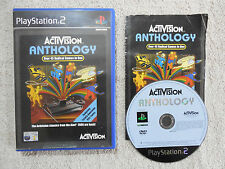 ACTIVISION ANTHOLOGY - PS2 PlayStation 2 - Complete PAL-3+ Arcade/Atari 2600