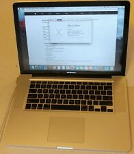 "Apple MacBook Pro 15"" A1286 2.53GHz Core 2 Duo 8GB RAM 250GB Mid 2009"