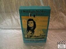 I Will Fight No More Forever (VHS) Large Case James Whitmore Sam Elliott