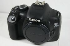 Canon EOS 550D  18.0 MP Digital SLR Camera - Black Body With battery & Charger