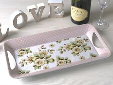 KATIE ALICE Cottage Flower SHABBY CHIC Small Serving Tray VINTAGE INSPIRED