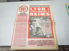 LE FOOTBALL EN IMAGES BUT N° 611 LYON TEST MATCH REIMS 1975 *