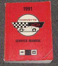 1991 Chevy Corvette Service Factory Shop Manual