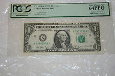 Fr. 1910-K $1 1977A Federal Reserve Note with Gutter Fold Error