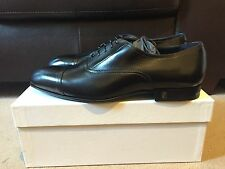 Versace Collection Black Leather Oxford Shoes UK 12 EU 46 RRP £395