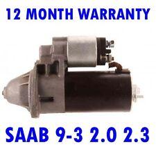 SAAB 9-3 2.0 2.3 1998 1999 2000 2001 2002 2003 REMANUFACTURED STARTER MOTOR