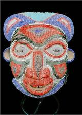 Old tribal bamileke beaded masque --- cameroun bn 9