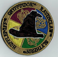 HUFFLEPUFF GRYFFINDOR RAVENCLAW SLYTHERIN PATCH IRON ON OR SEW ON 3.75""