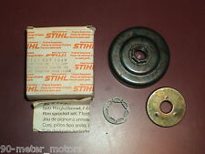 NOS OEM STIHL Chainsaw 3/8 Pitch x 7 Rim Drum Sprocket Kit 045 056 (READ Desc.)