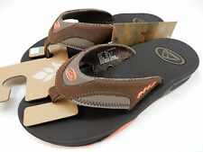 REEF WOMENS SANDALS FANNING LUX BROWN SIZE 7