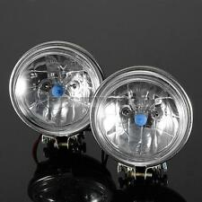 "2X 3.5"" INCH ROUND CAR MOTORCYCLE HEADLIGHT FOG LIGHT REVERSE  DRIVING LAMP 12V"