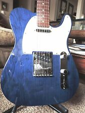 "1999 FENDER CUSTOM SHOP TELECASTER ""CN""'90s w/Case~COBALT BLUE ASH~Birdseye Neck"