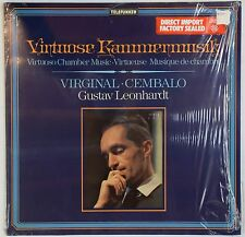 GUSTAV LEONHARDT Virtuoso Chamber Music TELEFUNKEN 6.42090 in Shrink NM