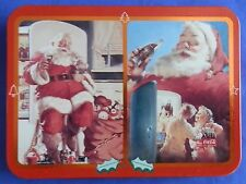 1995 Coca-Cola Santa Claus Christmas Playing Cards Limited Edition Double Deck