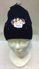 VIOLETTA DISNEY CAPPELLO BLU CON STRASS HAT BLUE WITH RHINESTONES GORRO