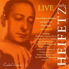 Jascha Heifetz in Never-Before-Published and Rare Live recordings, Vol. 3