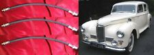 (x3) HUMBER Pullman & Imperial     FRONT & REAR BRAKE HOSES PIPES    (1946- 54)