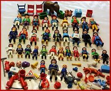 Huge Lot Playmobil Mix Figure Character People Animal Boy Girl Men Women Sport