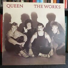 QUEEN The Works UK A2//B2 EMI COMPLETE 1984 LP EX