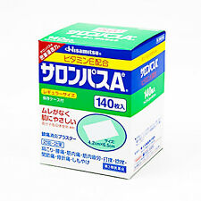 HISAMITSU☀Japan-SALONPAS Sheets Relief Muscular Pains Aches 140 sheets