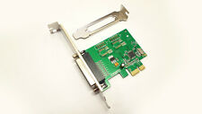 Parallel PCIe Printer Port Adapter IO Card w/Low Profile 1284 DB25 PCI Express