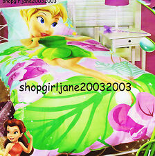 Disney Fairies Tinkerbell ❈ I am Tink! ❈ Double Bed Quilt Doona Duvet Cover Set
