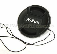 TAPPO FRONTALE COPRI OBIETTIVO A MOLLA 52 mm COMPATIBILE NIKON FRONT LENS CAP