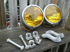 1930's VINTAGE PIONEER  FOG LIGHTS & MOUNTS/HOT STREET RAT ROD KUSTOM CUSTOM