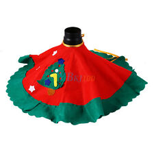 Santa Claus Snowman Christmas Tree Skirt Stands Ornaments Xmas Party Decor HOT