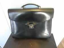 LANCEL business leather bag  --  original  --