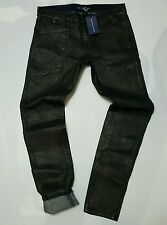 RALPH LAUREN BLUE LABEL COLLECTION WAXED/COATED WOMEN SLIM-FIT JEANS (29)