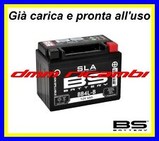 Batteria BS SLA Gel BB4L-B equivalente = YUASA YB4L-B YB4LB pronta all'uso