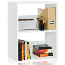 Eco 2 Shelf Duplex Bookcase and Storage Shelf (made from sustainable non-toxic z