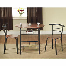 TMS Bistro 3 Piece Compact Dining Set