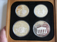 1976 Canada Olympic proof set $40 .925 silver box COA coin