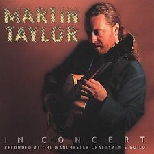 In Concert by Martin Taylor (CD, Aug-2000, Milestone (Label)) (cd4272)