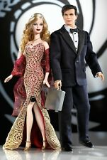Mattel James Bond 007 Ken  Barbie Doll Loves Pop Culture 2002 #B0150 14+