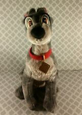 "Disney Store Tramp the Dog Plush from Lady and the Tramp 14"" Toy"