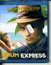 RHUM EXPRESS       avec johnny deep     bluray neuf   ref2107143