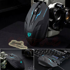 New Wired X5 USB 3D Optical Gaming Game Mouse Mice 1600 DPI For Laptop PC