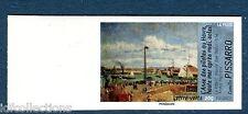 """Variété autocollant 828 """"impressionnistes"""" 2014 Pissaro sans phosphore et ND"""
