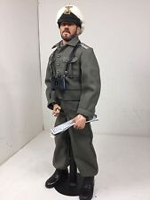 1/6 COTSWOLD GERMAN NAVY KRIEGSMARINE U BOAT CAPTAIN+MAPS & STAND WW2 DRAGON BBI