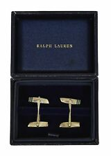 Ralph Lauren Purple Label Sterling Silver 925 Wing Cufflinks New $795