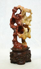 Well Hand Carved Chinese Shou-Shan Stone Statue   4317
