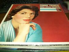 Connie Francis-Sings Jewish Favorites-LP-MGM-Vinyl Record