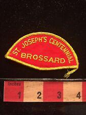 Brossard Canada Patch St. Joseph's Centennial (? Quebec Anglican Church ?) 67A