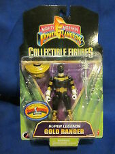 2008 Mighty Morphin Power Rangers Collectible Figure Gold Ranger Sealed