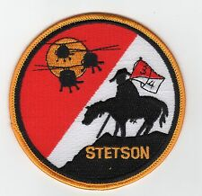T-4 3A2 Stetson - Cav helos mounted rider 3/4 BC Patch Cat No C5585