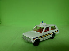 DINKY TOYS 0254 G3-4 RANGE ROVER POLICE CAR 1/43 - GOOD CONDITION -