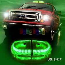 240 LEDs Light Bar Roof Top Emergency  Beacon Warning Flash Strobe Green